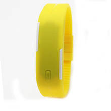 Factory direct cheap price silicone led watch silicone watch in stock