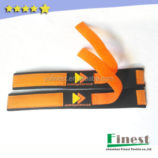 neoprene triathlon RFID timing chip ankle strap