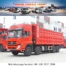 8x4 375hp Dump Truck Left/Right Hand Drive widely used Tipper Trucks for sale