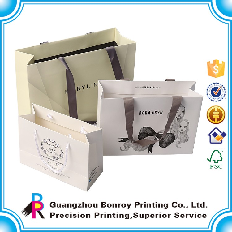 Custom Made Paper Bag Printing with Best Price and Custom Logo Print in High Quality Made in China