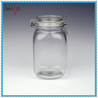 7 size set --Silicone Seal Airtight Glass Jar Locking Lid