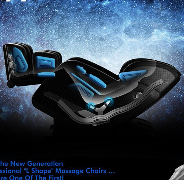 Fashional Style Zero Gravity Space Capsule Heating 3D Massage Chair Music&Speaker Feature portable electronic pulse massager