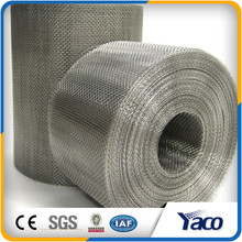 Resistance against acid 1.2mx30m roll size stainless steel wire mesh
