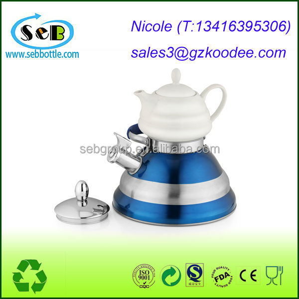 2014 Hot sales!!Best Premium Stove Top Teapot Whistling 18/10 Stainless Steel Tea Kettle