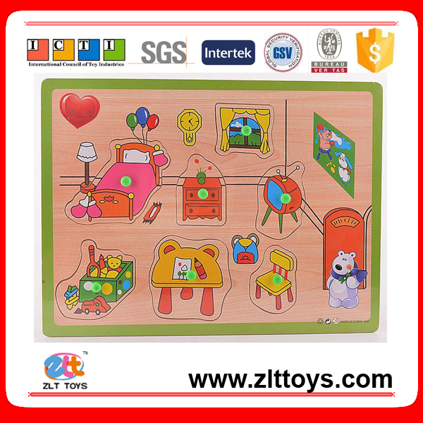 Cartoon Paper Jigsaw Puzzle toys for kid