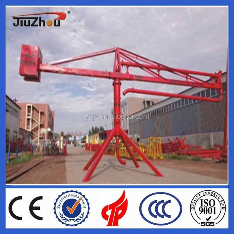 Manual Concrete pouring equipment/concrete spreader/Boom placer