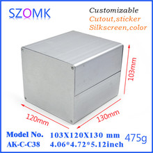 aluminum electronic enclosure for project aluminum extrusion enclosure electronics