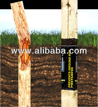 Postsaver System to Prevent Ground rot in timber fence posts and poles