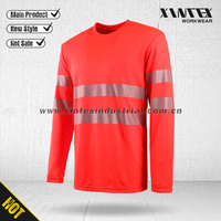 2016 NORTHCAPE EN ISO 20471 fluorescent high visibility reflective long sleeve T shirt