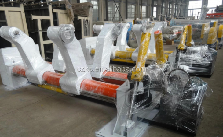 high speed Hydraulic Shaftless Mill Roll Stand For Corrugated