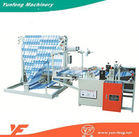 High Speed Good Price Automatic Plastic Film Edge Folding Bag Making Machine