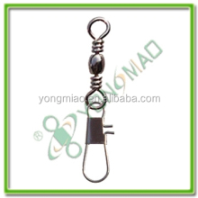 YM3702 BARREL SWIVEL WITH INTERLOCK SNAP