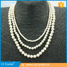 latest designs jewelries necklace,bead necklace designs women necklace,hot sale pearl necklace