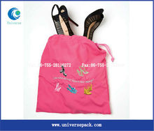 nylon women shoes bag for promotions