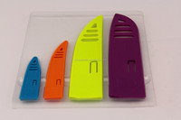 Kitchen Gadget Plastic knife sheath in 4 size for different size knife