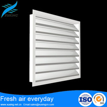 high quality weatherproof prefabricated fixed aluminium louver new window grill design