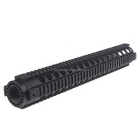 Funpowerland Tactical T-Serie 4/15 15 inch Free Float Hand Guard Quad Rail Scope Mount