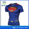 Fashional Compression Quick Dry Marvel T Shirts with Digital Printing