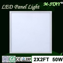 Factory sales high brightness 2x2 led light panel with ce rohs led dura light
