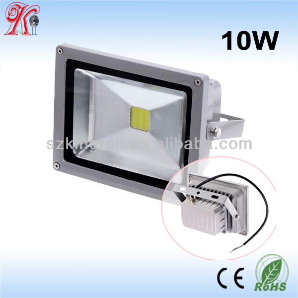 Constant-current driver 3 years warranty IP65 10W LED flood light