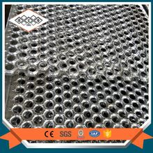 Floor serrated canal drainage galvanized walking steel grating