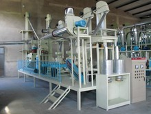 Corn flour milling production machine 50TPD maize flour grinding machine