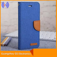 Mercury Phone Case for Sale, Korean Brand Goospery Canvas Wallet Flip Case for Iphone6