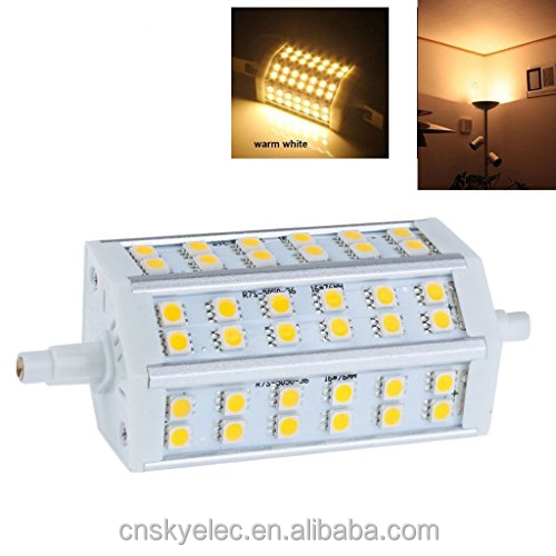 dimmable 118mm r7s smd5050 10w r7s led 118mm ce rohs 2700-7000k led led r7s