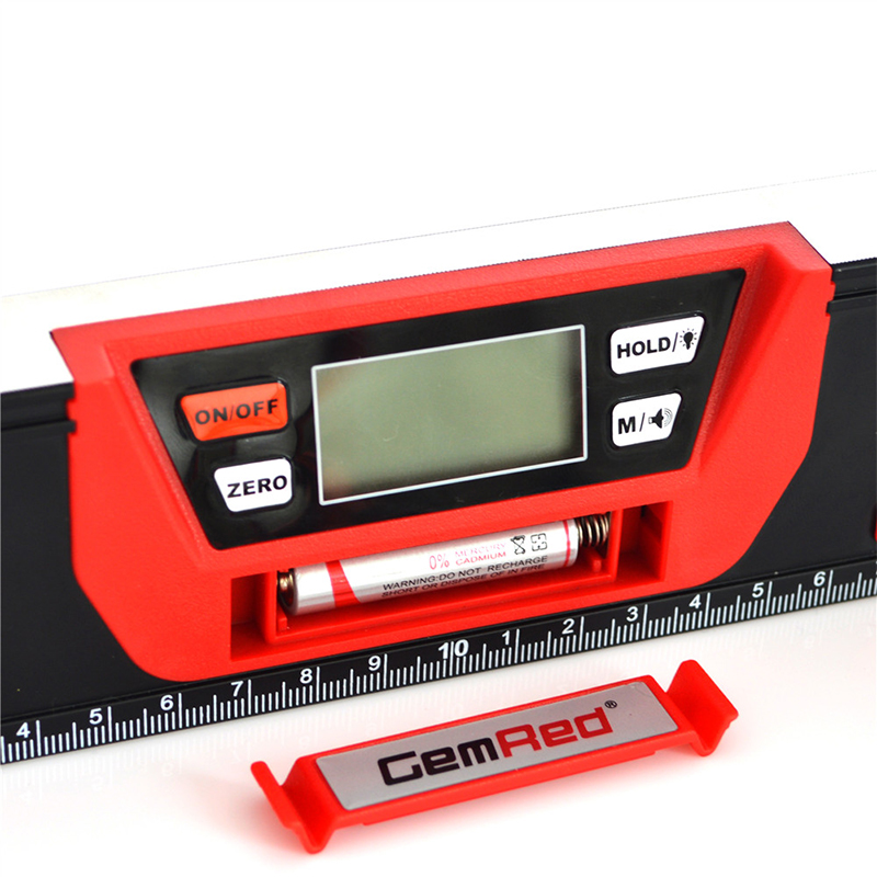 GemRed 600mm Construction Tools Bluetooth Smart Digital Protractor Level