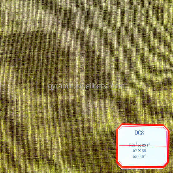 High Quality Of Pure Ramie Names Woven Fabrics