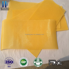 export beekeeping beeswax foundation sheet/ Beeswax comb Foundation