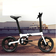 Li-ion 250W 36V long distance small electric folding bicycle E bike / moped