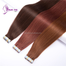 factory price blond hair extension cheap peruvian hair weaving pu tape extension