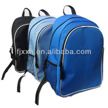 Big capacity 600D cheap simple promotional backpack