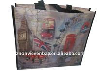 non woven laminated promotion gift shopping bag