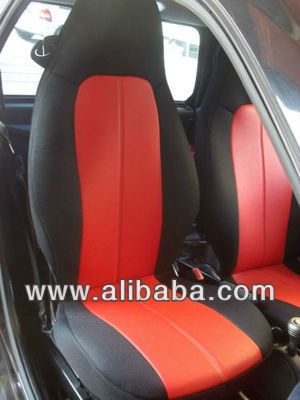 for SMART FORTWO 1998-2007 (450) two custom mix leatherette & synthetic seat covers
