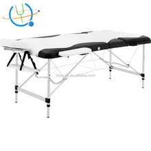 Salon Furniture Aluminium Luxury Table de Massage Sex White Massage Table Bed