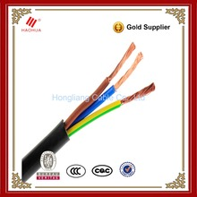 NO.0023-- RV-K BS EN standard 0.6/1kV Low voltage Class 5 Copper XLPE PVC Power flex manufacturers 3 core 4mm flexible cable