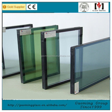 Safety soundproof price insulated low-e glass for door and window