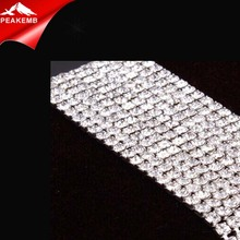 Acrylic Rhinestone Chain For 6Mm Shoulder Chain Empty Cup Chain 10Mm