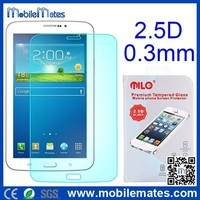 for Galaxy Tab3 7.0 Tempered Glass Screen Protector, 0.3mm 2.5D Tempered Glass for Samsung Tab 3 7.0 P3200