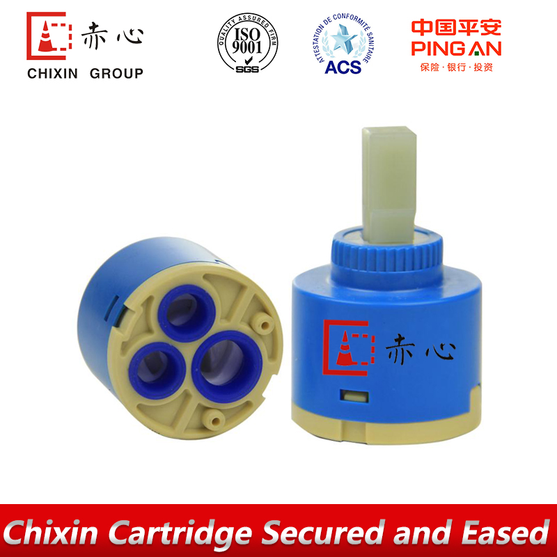 ACS test good quality faucet ceramic mixer cartridge