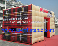 2013 beautiful design inflatable air cube tent