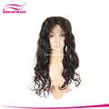 6A+ remy peerless lace front wigs,natural color judges wig