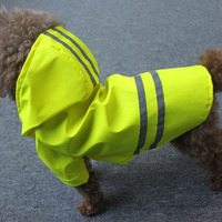 reflective Popular pet raincoats for large dogs