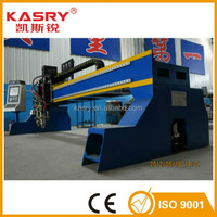 CE&ISO China professional factory CNC gantry type plasma steel plate metal sheet cutting machine with high precision