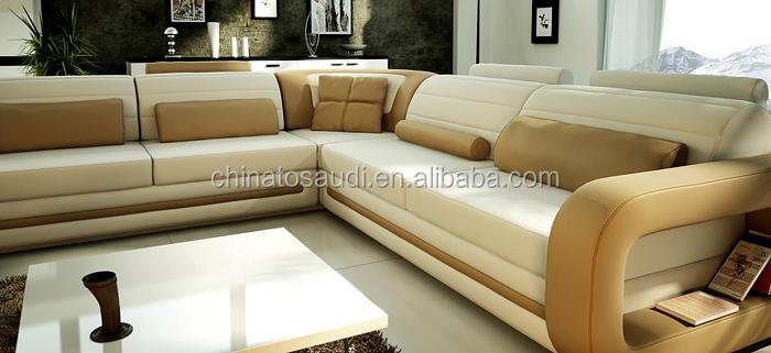 Elegant Furniture Leather Sofa Sofa Set Furniture