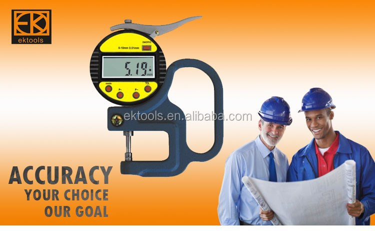 high quality pipe measuring tool price / dial thickness guage