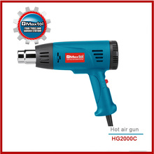heat gun with digital display type and adjustable temperature quality assured hot air gun
