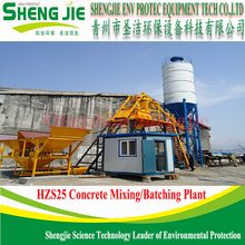 hot sale hzs 25 concrete mixing plant with PLD800 Batching Machine
